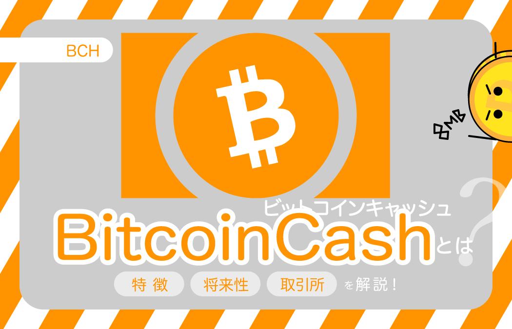BitcoinCash(ビットコインキャッシュ)|BCHとは?相場や今後の将来性