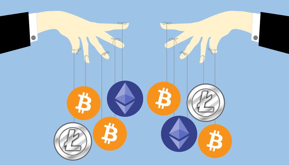 仮想通貨市場における市場操作について